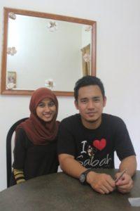 Kluang homestay villa a wedding couple