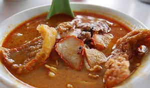 Kluang Famous Hot Spicy Botak's Curry Mee