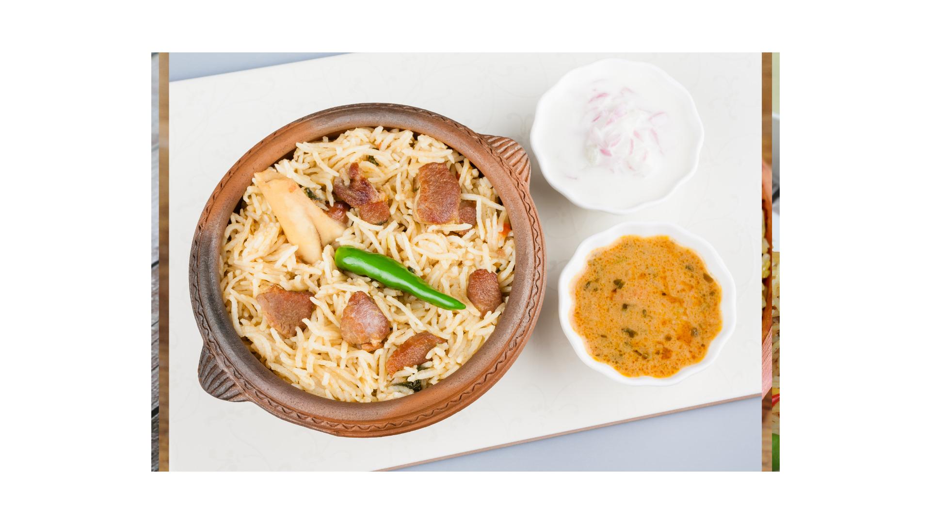Healthy Kluang Desa Mutton Biryani Best Favourite Choice